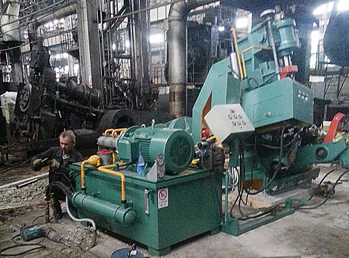 D51Y-250ES Radial And axial bidirectional ring rolling machine in Russia